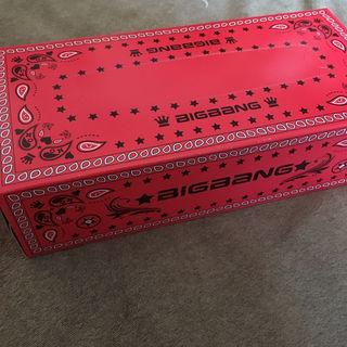 BIGBANG ヨンベカラー ティッシュボックス