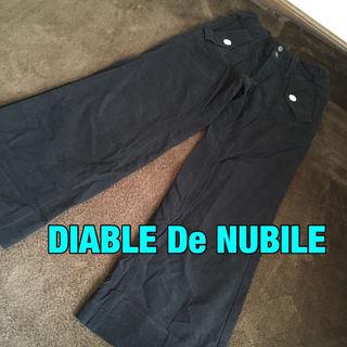 DIABLE De NUBILEドットボタンパンツ