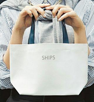 SHIPS(シップス)大人マリントート新品未使用