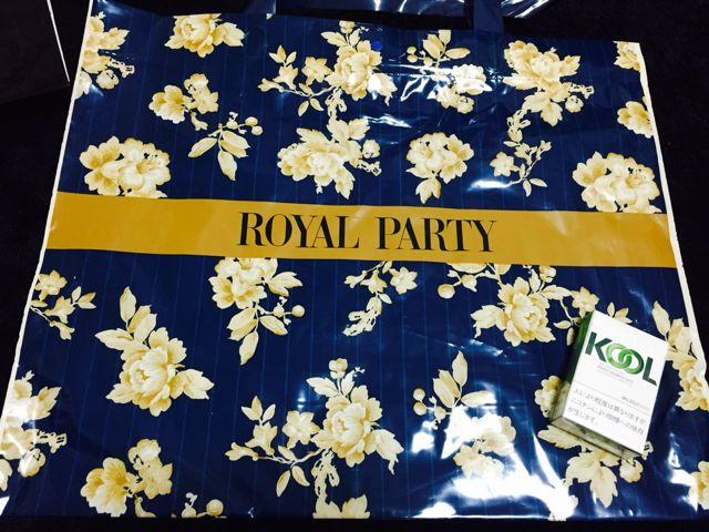 ROYAL PARTY/ショップ袋 2種類(ROYAL PARTY(ロイヤルパーティー) ) - フリマアプリ&サイトShoppies[ショッピーズ]