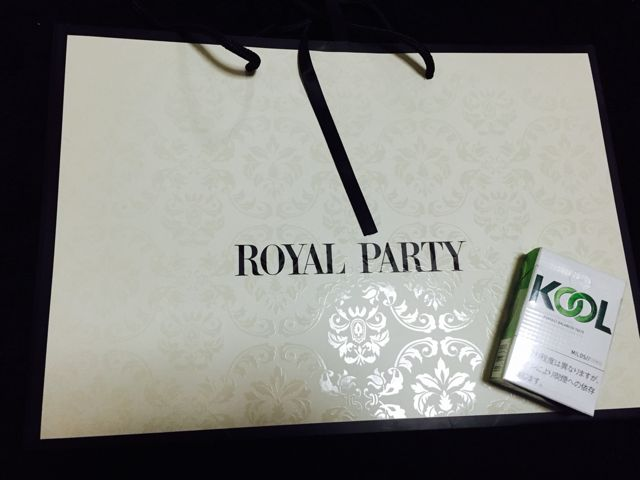 ROYAL PARTY/ショップ袋 2種類