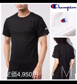 定価4,950円チャンピオン半袖クルーネックTシャツ