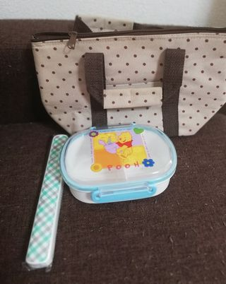 激安プーさんの可愛いお弁当箱セット(未使用)
