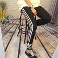 即発!新品adidas 片ロゴスポーツ/レギンス 黒