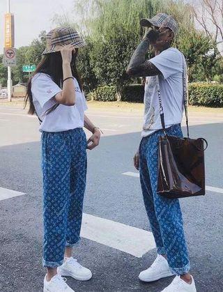 Sup×LV定番人気 ファッションのジーンズ 薄手タイプ