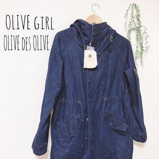 【新品】OLIVEdesOLIVE ロングデニムジャケット