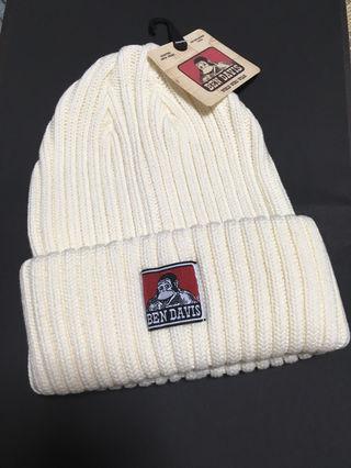 ニット帽 オフホワイト
