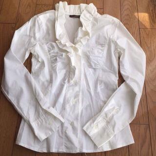 JADE'S ジェイズ 襟元 フリフリシャツ