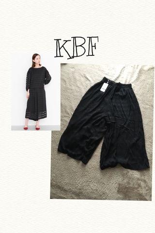 【新品タグ付き】KBFレースガウチョパンツ