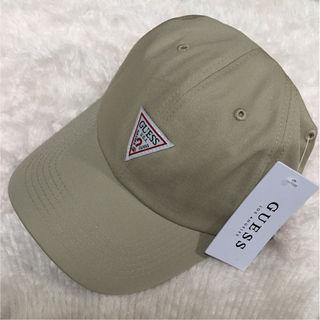GUESS6PANEL CAP ベージュ