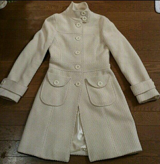 ロンドンで購入おしゃれ白コート - フリマアプリ&サイトShoppies[ショッピーズ]