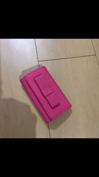 キーケース ピンク リボン