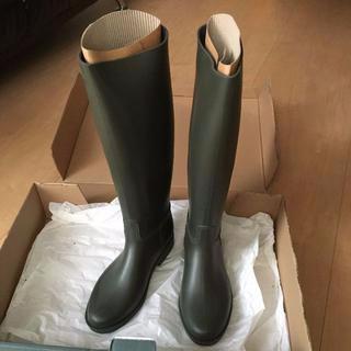 【新品同様】UMO_サイズ35(22.5)_長靴レインブーツ