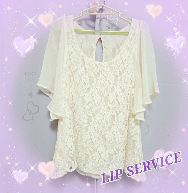 トップスリップサービス(LIP SERVICE(リップサービス) ) - フリマアプリ&サイトShoppies[ショッピーズ]
