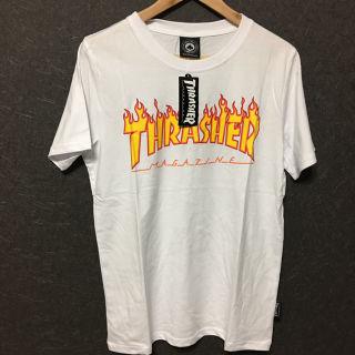 THRASHER Tシャツ M ホワイト