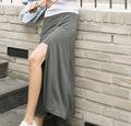 インナーパンツ付き スカート ロング マキシスカート