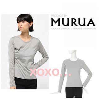 新品 MURUA オーガニックロンT