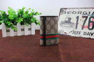 国内発送Gucciグッチ 6連キーケース 三折 メンズ