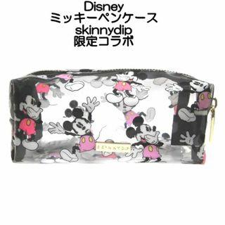 disney ディズニー コラボ ペンケース ミッキーマウス