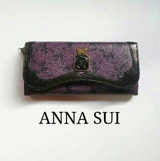 廃盤 ANNA SUI  ウォールデコ 長財布