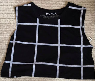 MURUA ショート丈トップス