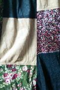 2WAY花柄スカート