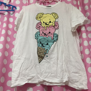 monomaniaヨダレベアアイスクリームTシャツ