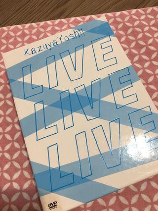 吉井和哉 ライブDVD LIVE LIVE LIVE