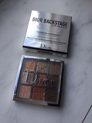 Dior バックステージ アイパレット 001