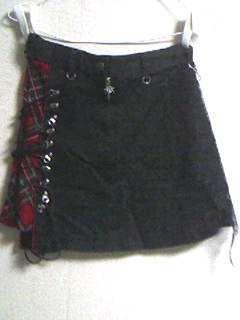 MAD・膝上パンクスカート