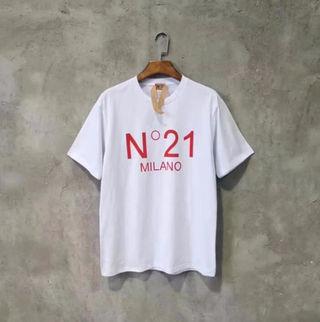 国内発送 大人気 N21ヌメロヴェントゥーノ ロゴTシャツ