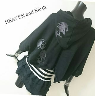 HEAVEN and earth*パーカー