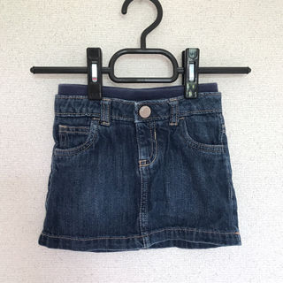 子供!デニムスカート!12-18ヶ月
