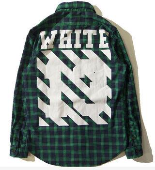 今季 オフホワイト/Off-White シャツ 男女兼用