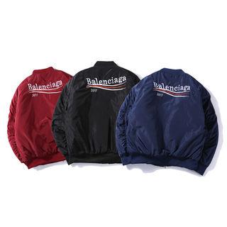 BALENCIAGA ダウンジャケット コート ロゴ刺繍