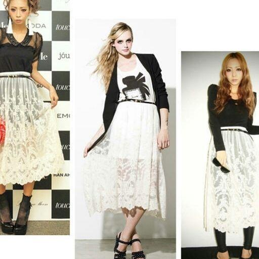 MURUA レーススカート(MURUA(ムルーア) ) - フリマアプリ&サイトShoppies[ショッピーズ]