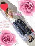 新品タグ付き花柄×レース綺麗系コーデ2点セット