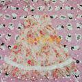リズリサ 花柄ワンピース