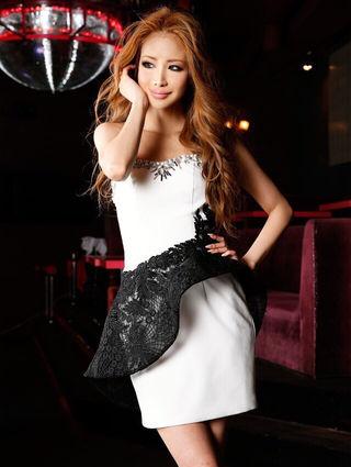 ANGEL R高級ドレスホワイト