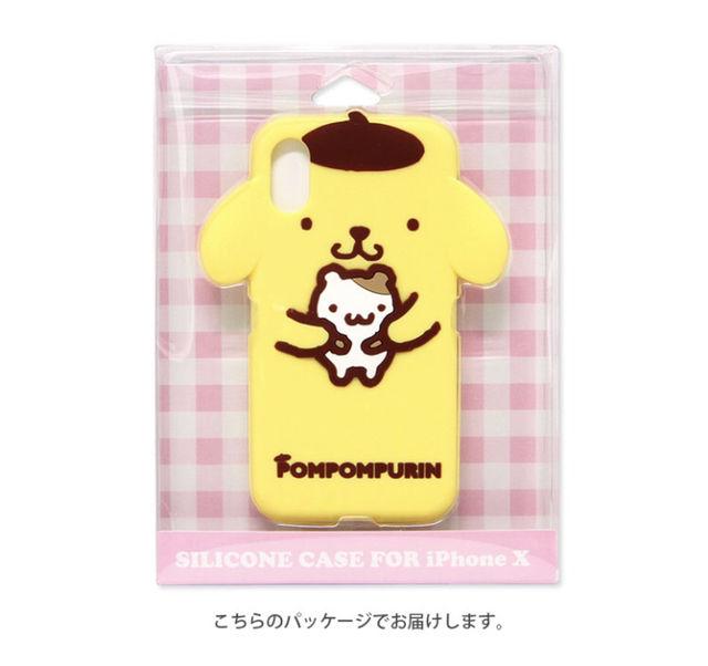 新品 ポムポムプリン iPhoneケース