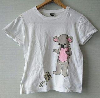 グラニフ バックプリント付きTシャツ