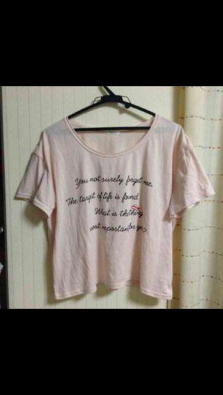 値下げ★ショート丈Tシャツ