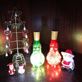 クリスマスオーナメント LEDライト 二点セット【限定1個】