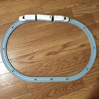 【訳あり】プチ電車シリーズ N700系新幹線 レールセット