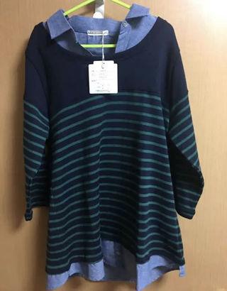 S.B)     TCBDムジエリ7シャツ