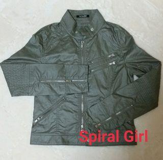 SPIRALGIRL  ライダースジャケット
