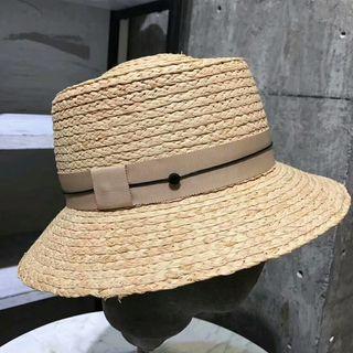 新品 帽子 レディース  日よけ 麦わら帽子 ハット