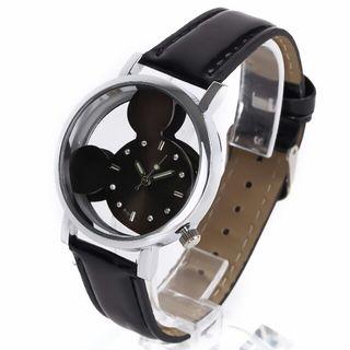 [希少]ミッキー マウス ブラック 腕時計