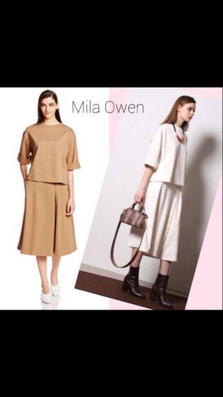 Mila Owenガウチョセットアップ