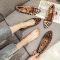 秋冬 ファー レオパード 豹柄 パンプス ブーツ